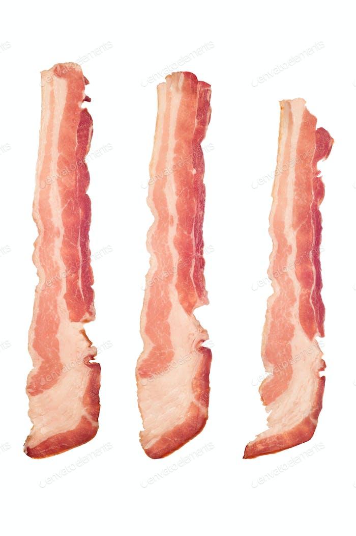Raw bacon