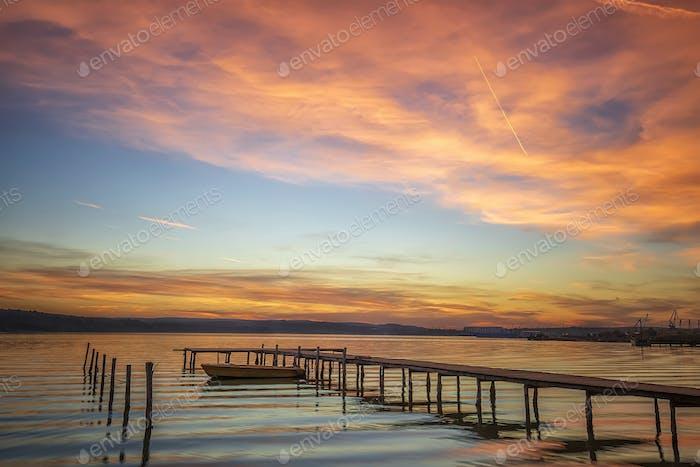 Magnificent sunset
