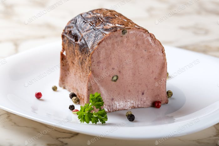 Special liver pate