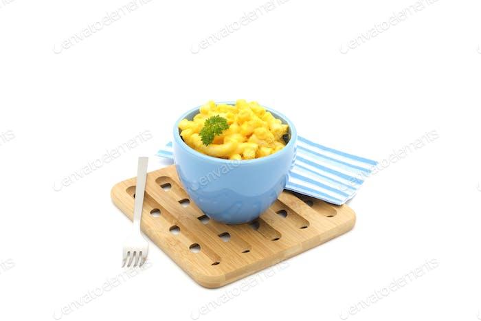 Mac- und Käseschale