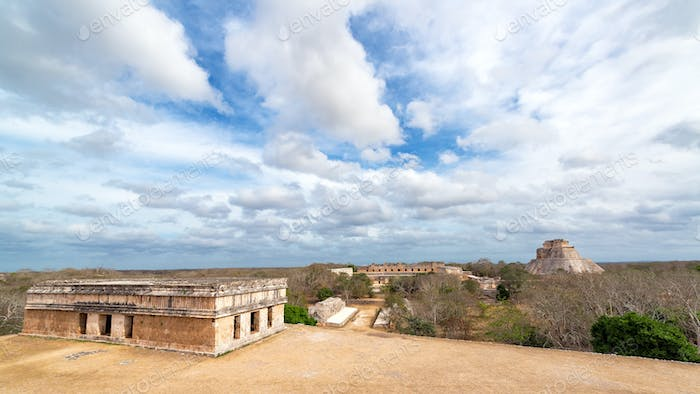 Uxmal Cityscape View