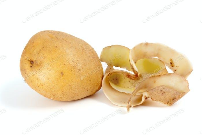 Potato and some peel
