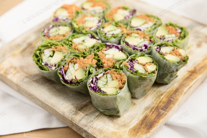 Spring Roll Plate