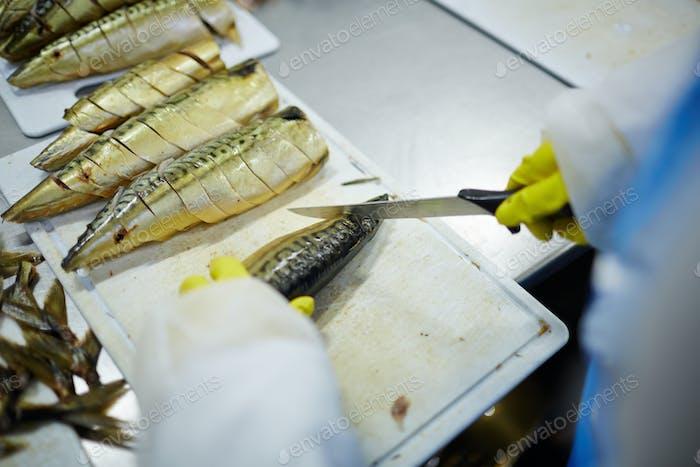 Cortar sardinas
