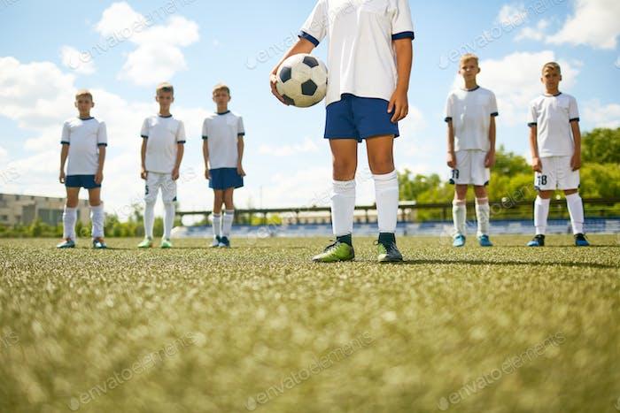 Captain of Junior Soccer  Team
