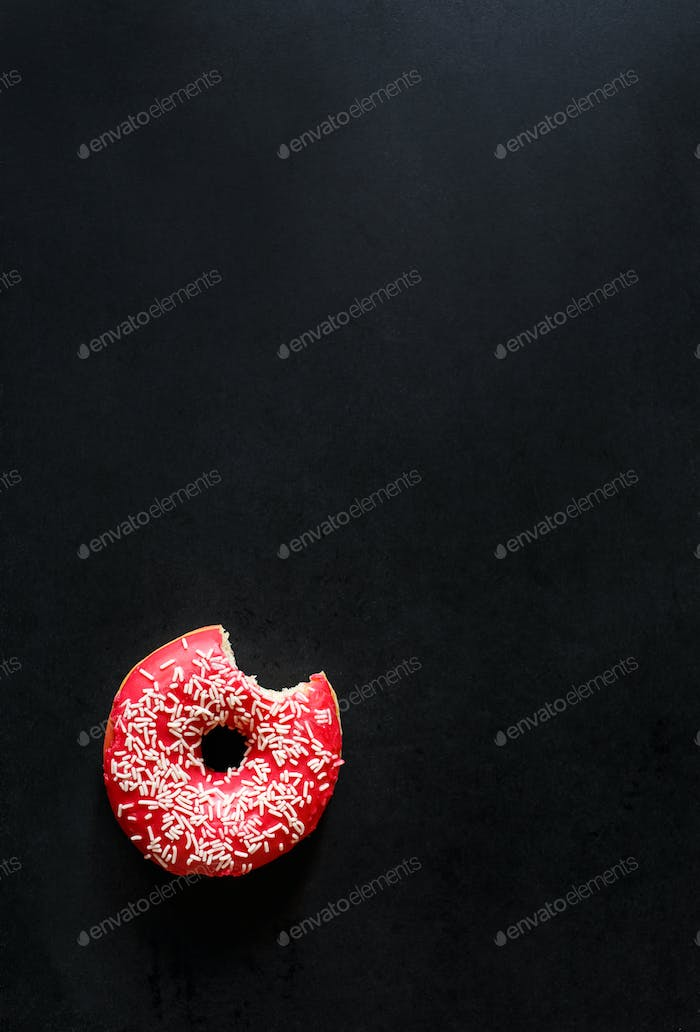 Sweet tasty donut