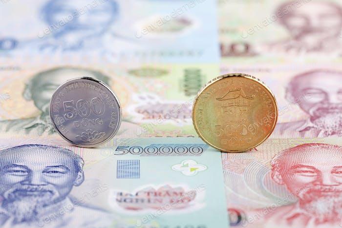 Monedas vietnamitas