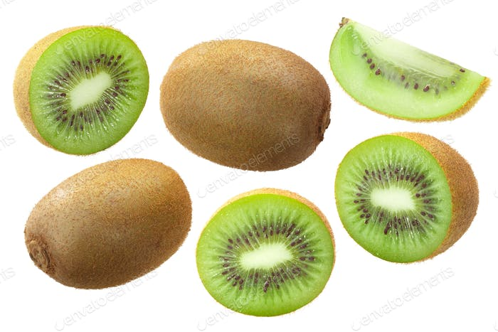 Kiwifruits A. deliciosa, paths