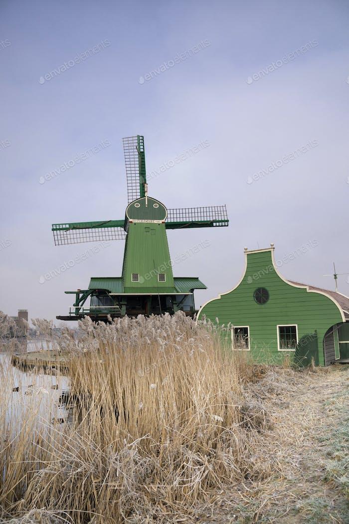 Windmill in the Zaanse Schans