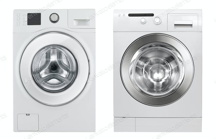 Washing Machines isolated