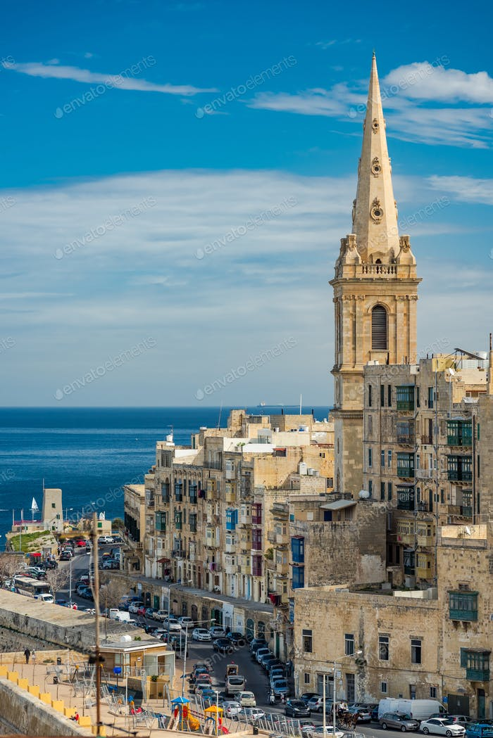 St. Paul's Anglican Cathedral in Valletta,Malta