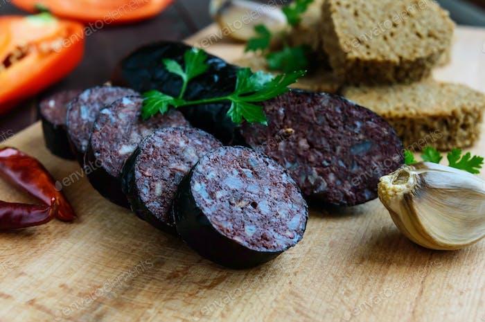 Morcillo (Spanish black pudding, blood sausage)
