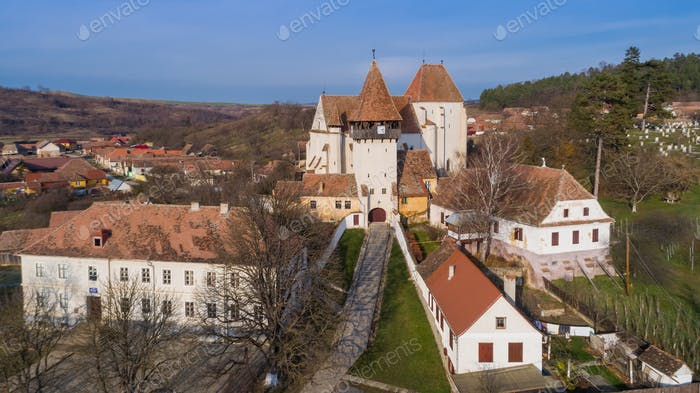 Bazna fortified church