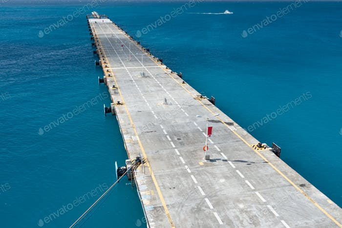Jetty at a Port