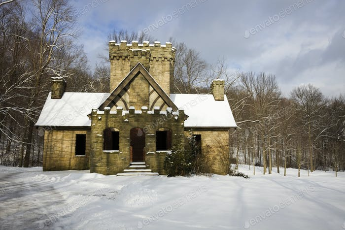 Squire's Castle in Cleveland area