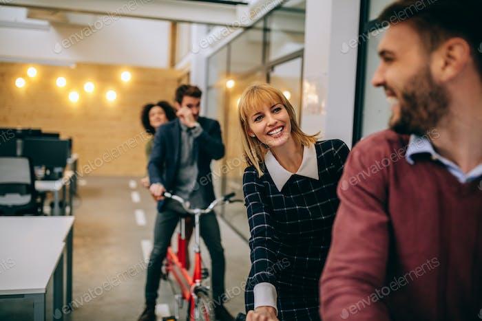 Building positive business relationships