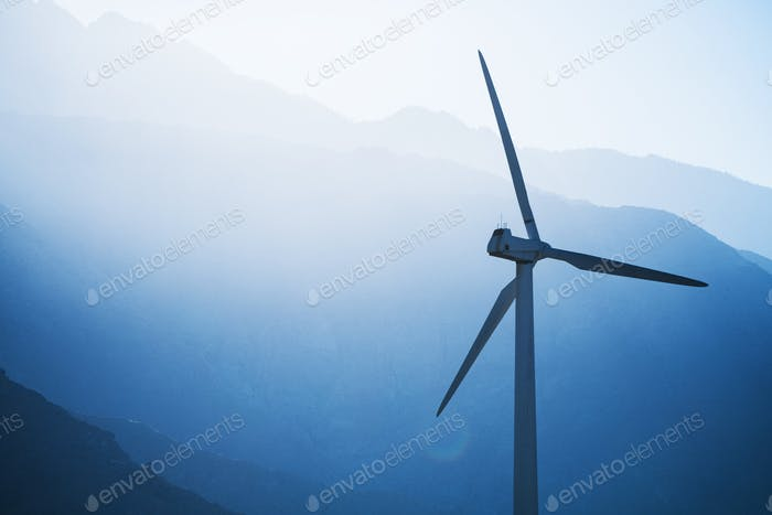 Wind Turbine Power Concept