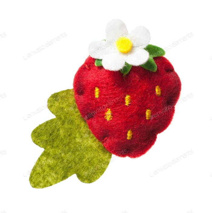 Toy strawberry