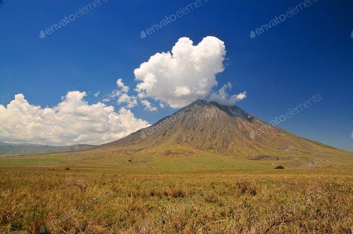 Berg Gottes oldoinyo lengai, Tansania