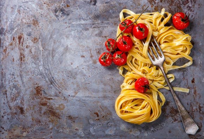 Pasta Tagliatelle is traditional