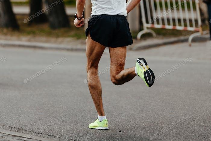 men jogger athlete