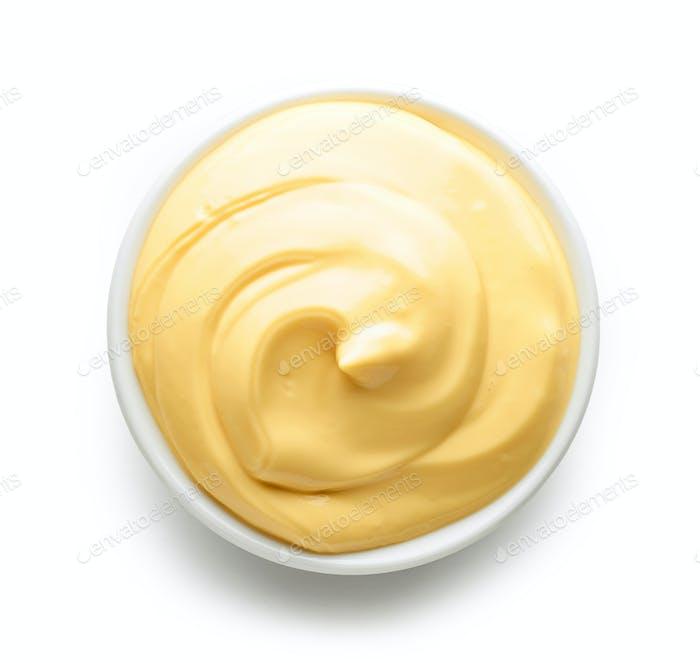 Schüssel Mayonnaise