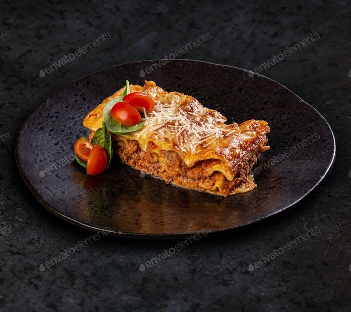 Leckere Lasagne mit Fleisch