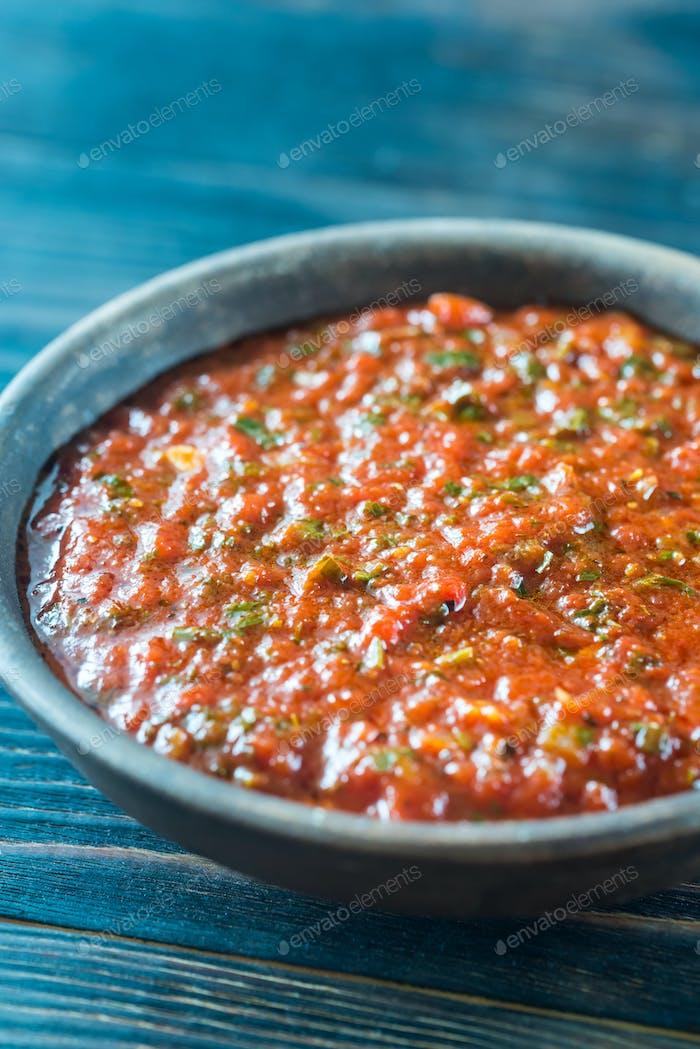 Bowl of Marinara - Italian tomato sauce
