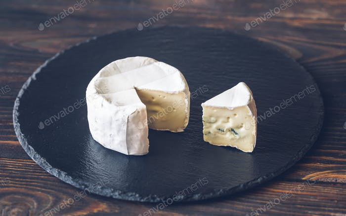 Cambozola cheese close-up