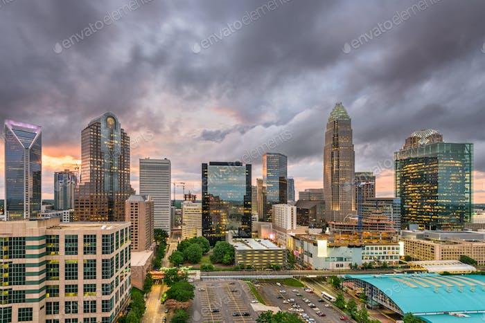 Charlotte, North Carolina Cityscape