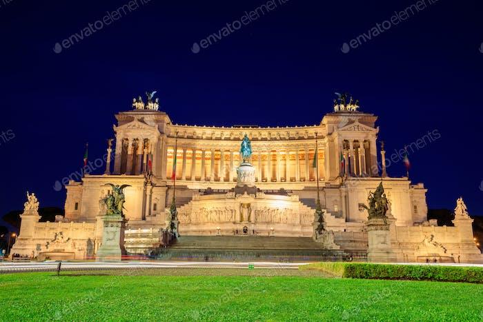 Denkmal von Victor Emmanuel - Rom, Italien