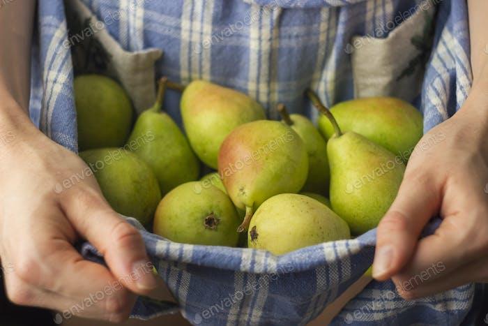 Fresh Organic Pears