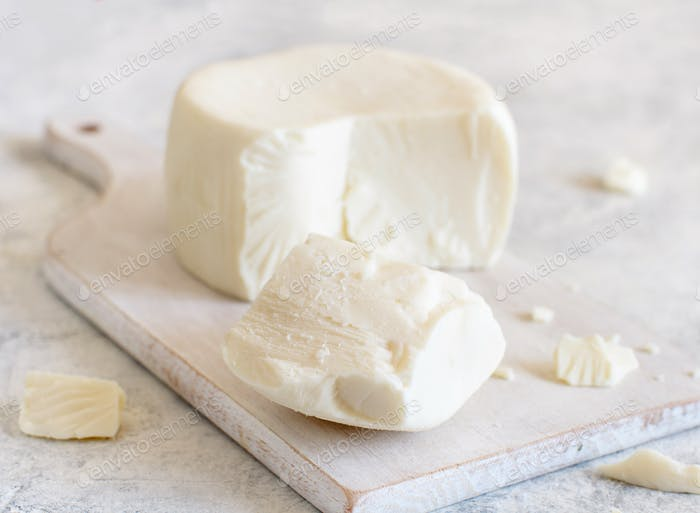 South Italian cheese cacioricotta