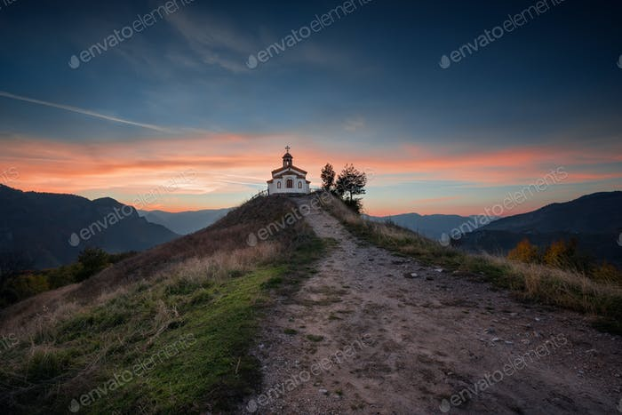Chapel on the hill