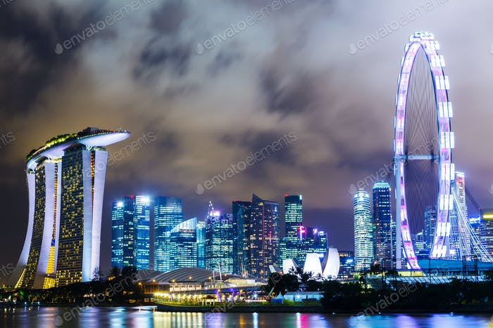 Urban city in Singapore