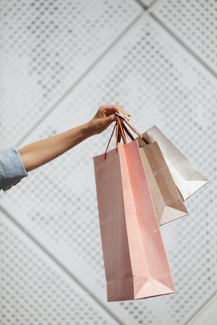Shopping-Taschen anzeigen