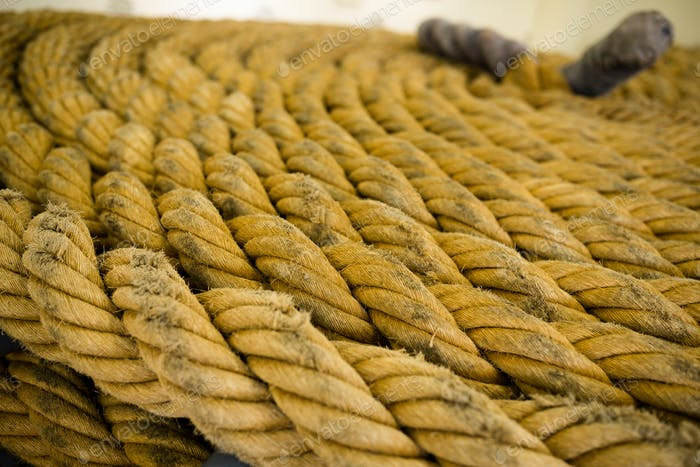 Raues Seil für Textur