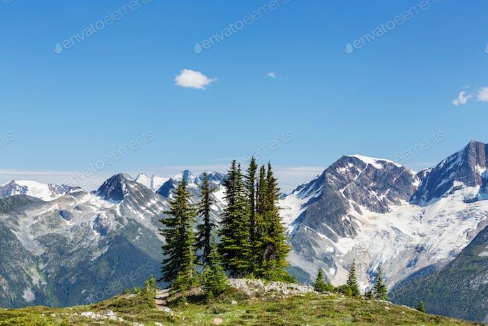 Berge in Kanada