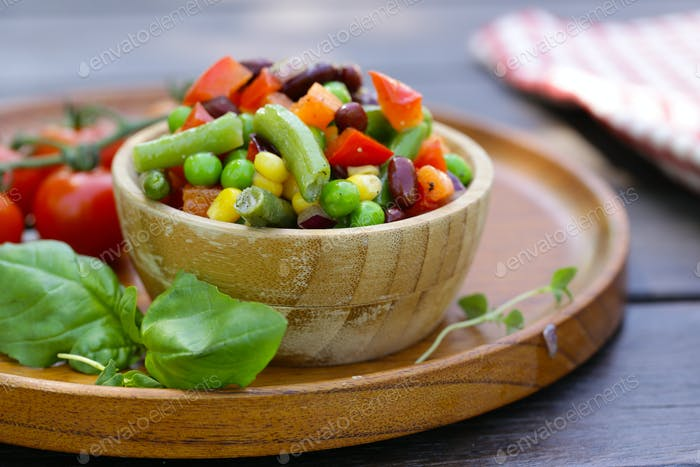 Vegetable Mix Garnish