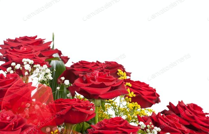 Ecke der roten Rosen