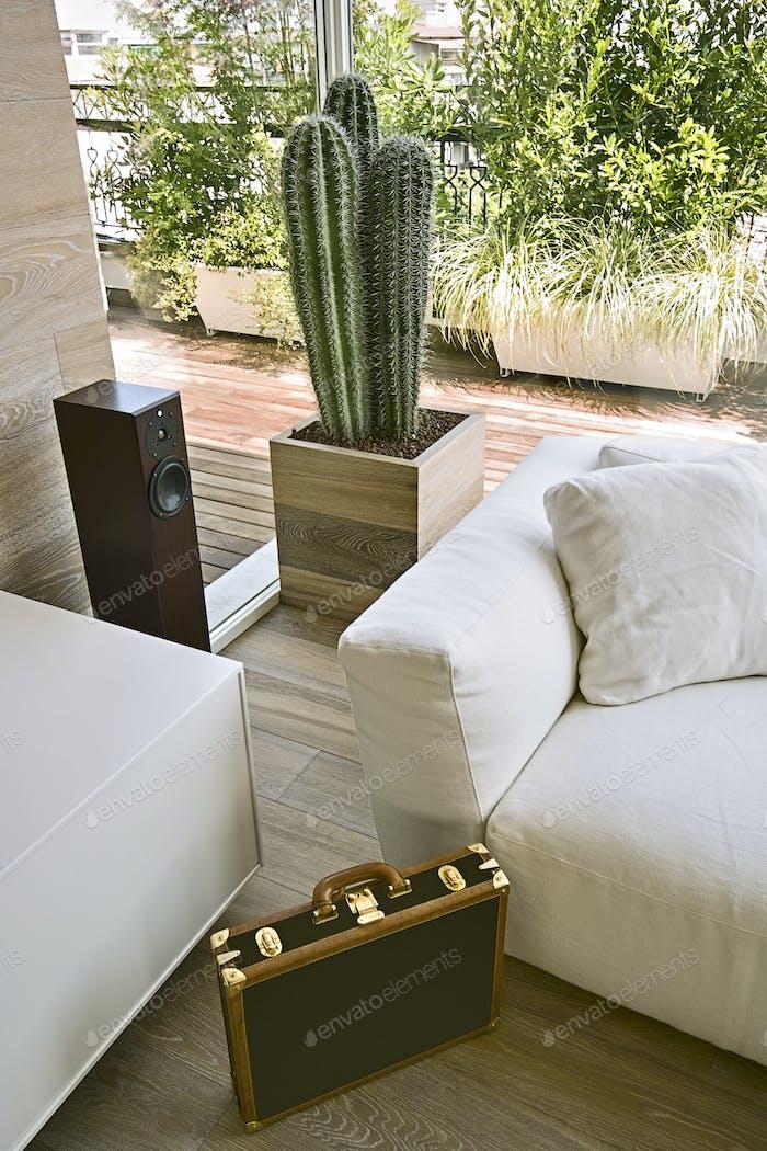 Interiors a Modern Living Ro