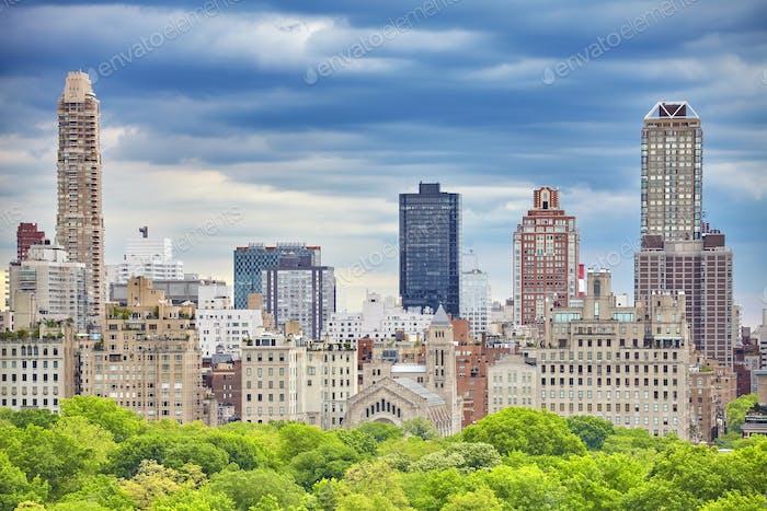New York City, Upper East Side of Manhattan.