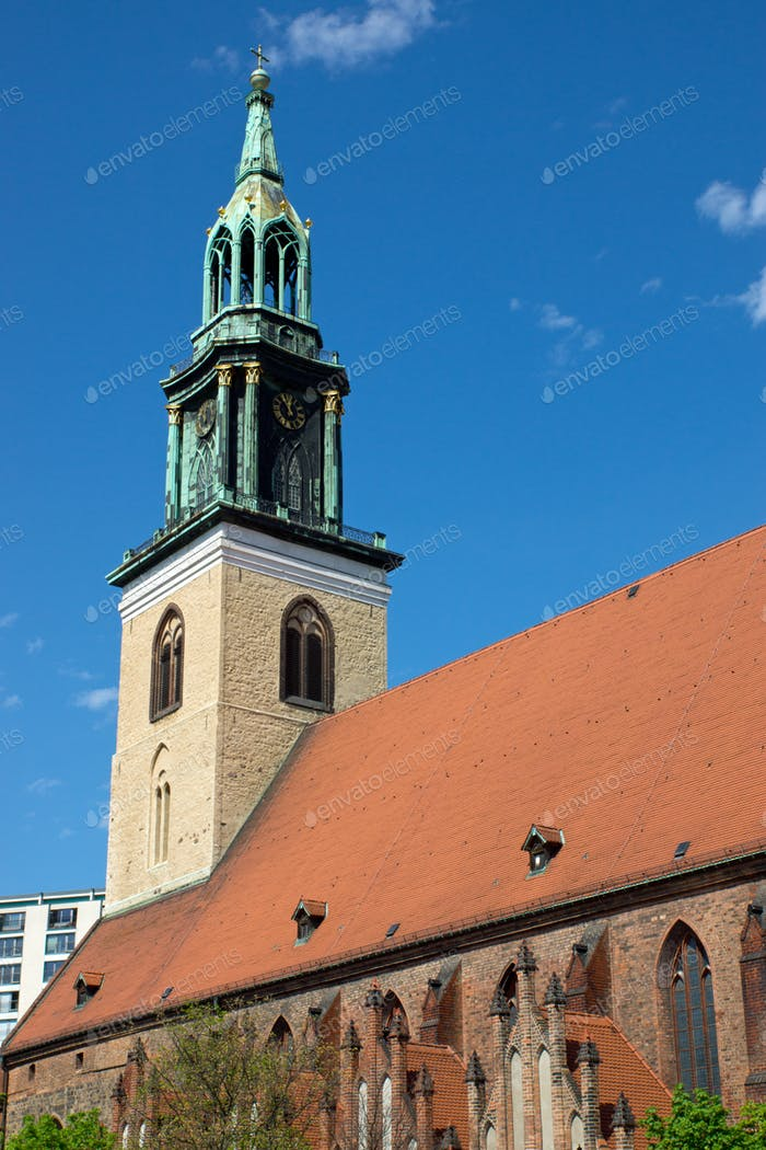 Die Marienkirche in Berlin