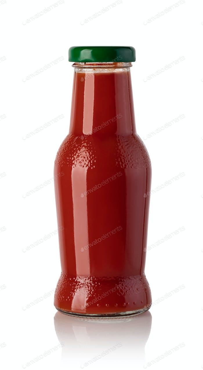 bottle of tomato juice