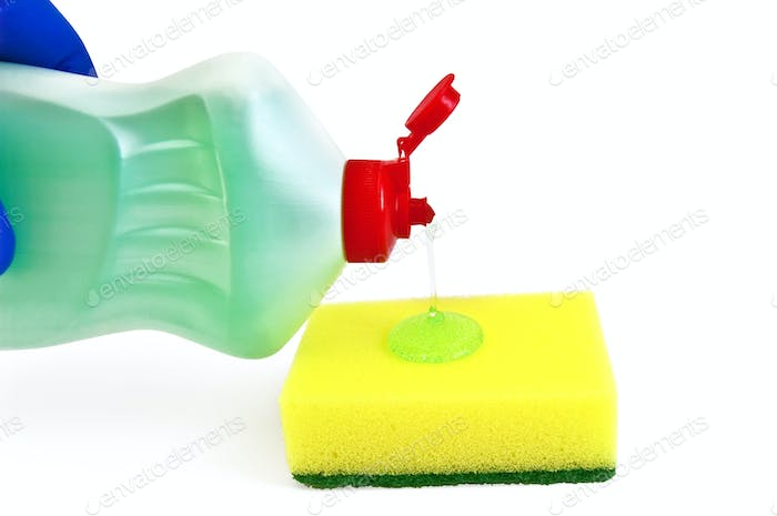 Gel Dishwashing sponge