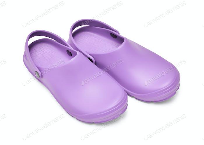 Clogs Purple