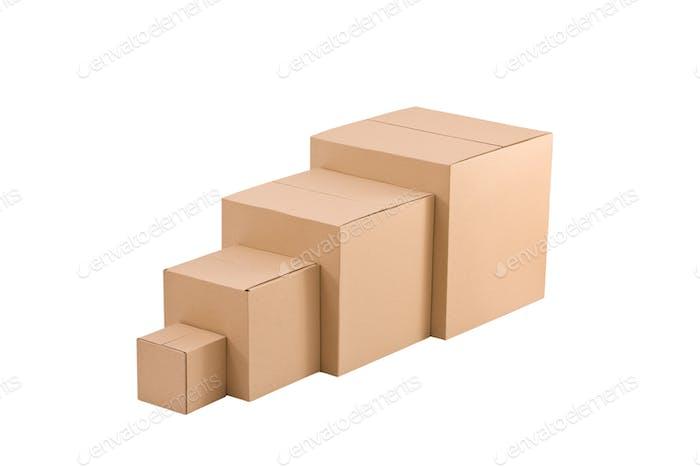 ardboard boxes