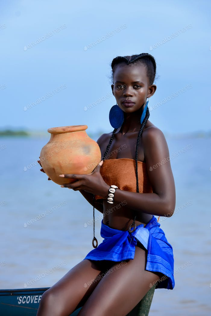 The Beauty of an African woman
