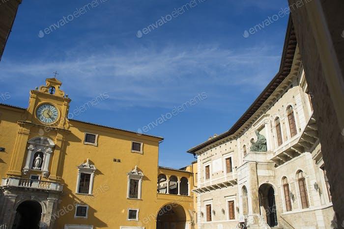 Fermo Marche Italien
