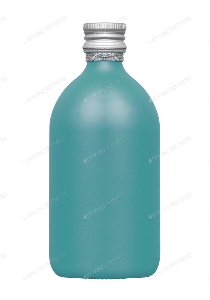 Plastic bottle isolated